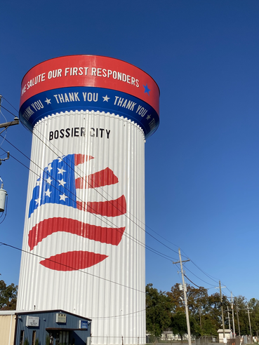 New Patriotic Water Tower