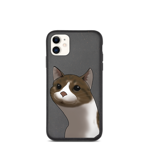 Cute cat phone case.