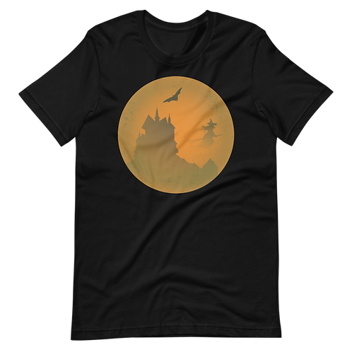 Haunted Castle and Witch Moon Shirt