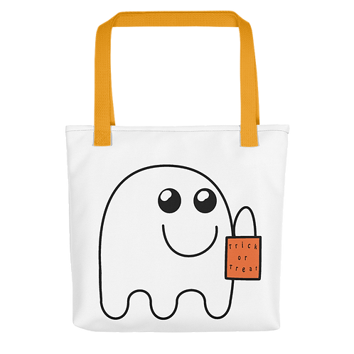 Ghost Trick-or-Treat bag