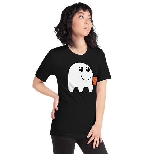 Cute Ghost ready to go trick-or-treating