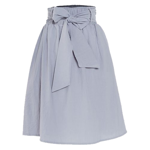 Brush Cotton Grey Redefine skirt