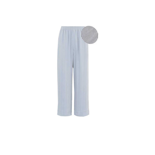 Grey and White Stripe PJ Pants Only