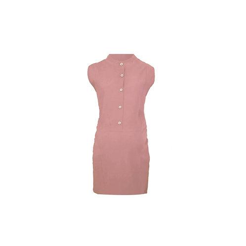Button down front pocket dress
