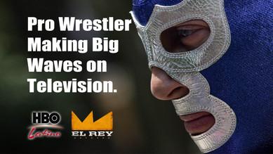 Pro Wrestler making big waives on TV