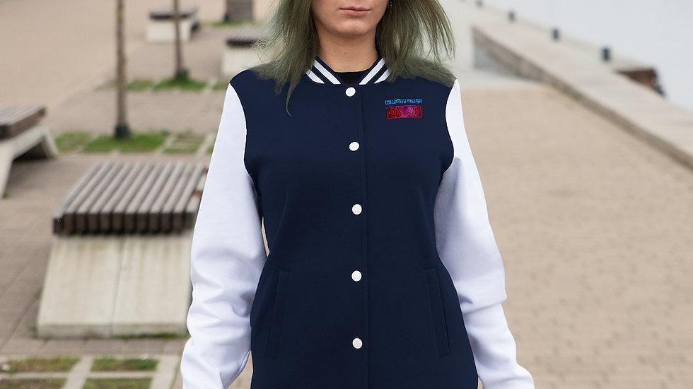 CW podcast Women's Varsity Jacket