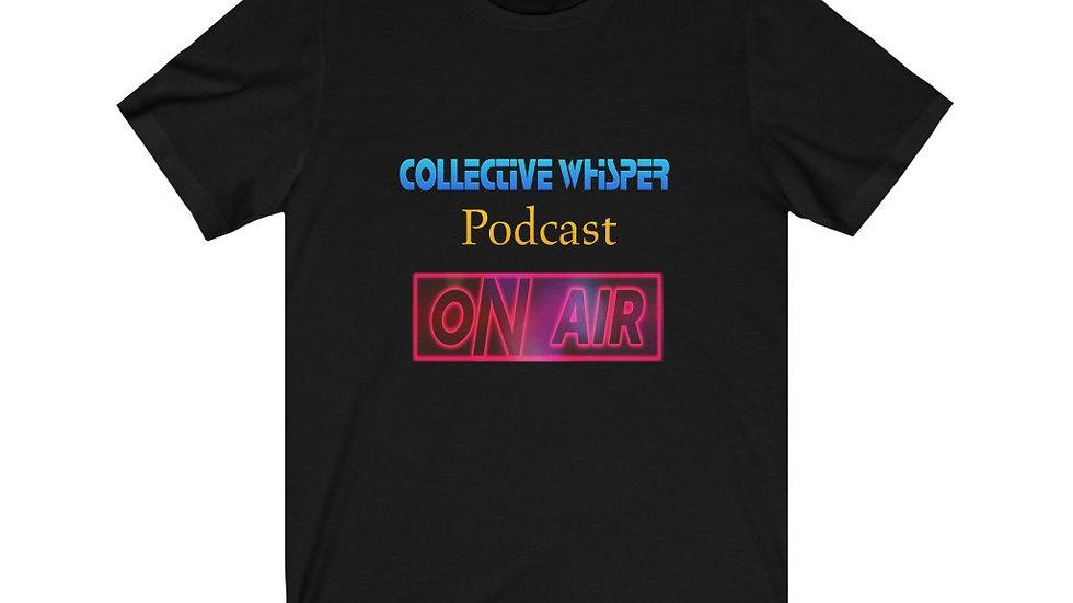CW podcast Unisex Jersey Short Sleeve Tee