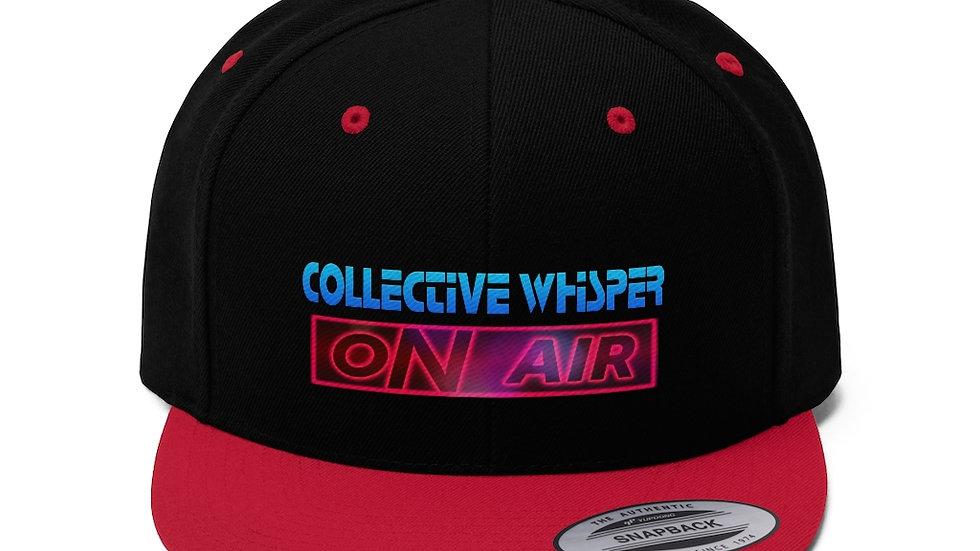 CW podcast Unisex Flat Bill Hat