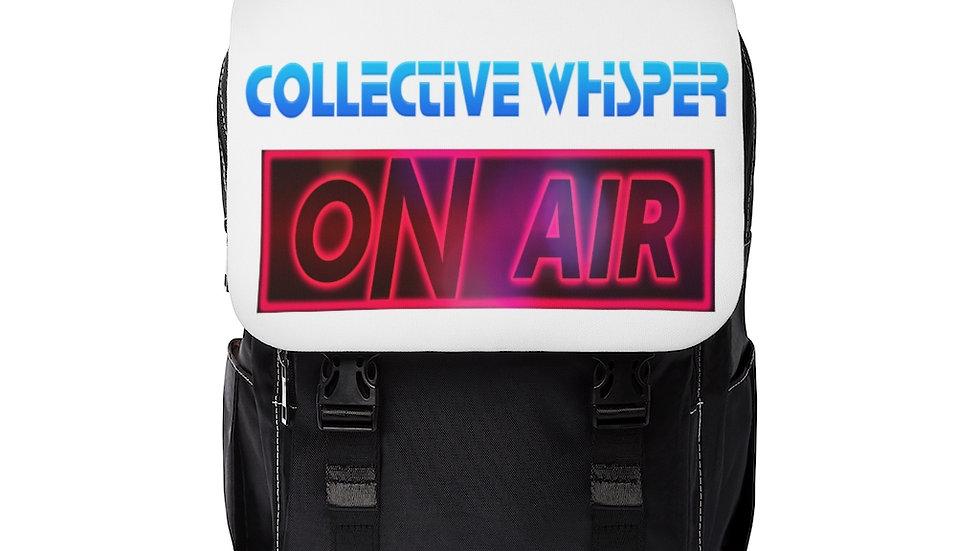 CWpodcast Unisex Casual Shoulder Backpack black & white