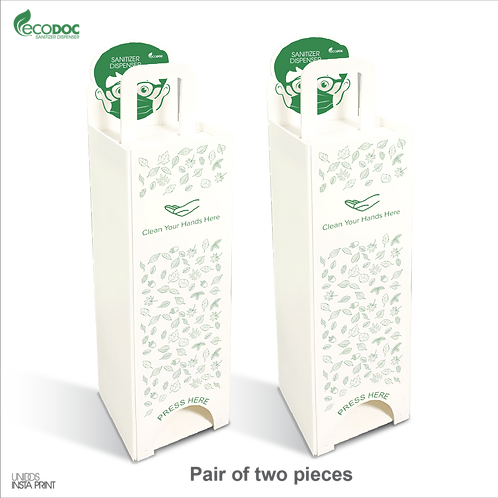 EcoDoc Sanitizer Dispenser (Pair of two)