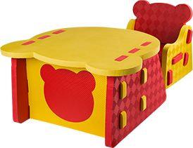 Self Assemble Chair Table Set