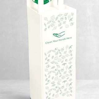 Foot-operated Handsfree Sanitizer Dispenser COVID-19