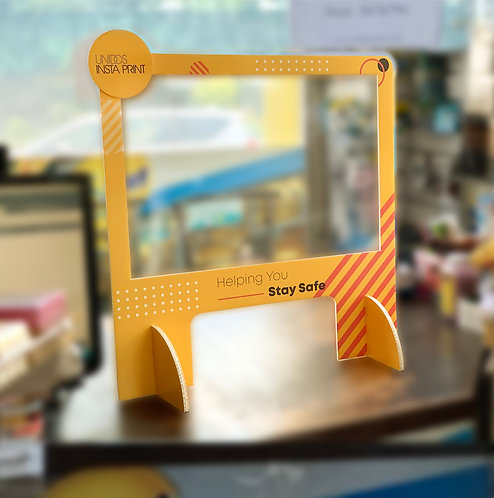CROSS™ - Counter & Reception Safety Shield