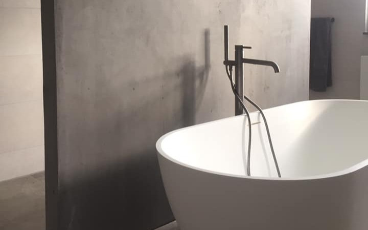 Badkamer tussenwand