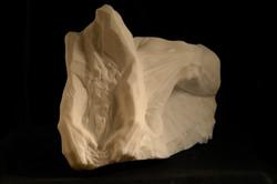 Territorio,marmo statuario 47x2
