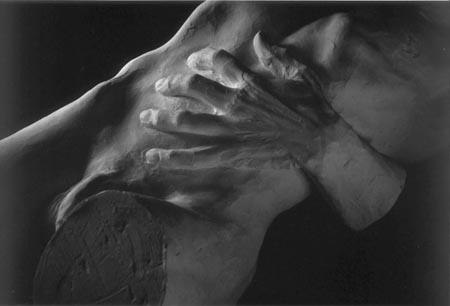44 la nascita di Eros,1998 gesso 60x102x