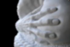 Zeus e Pandora, marmo, 60x65x55 cm 201
