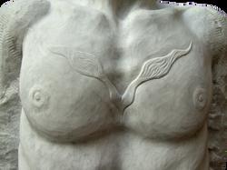 QUI E ORA,marmo, 100x40x65 cm,  2010 (
