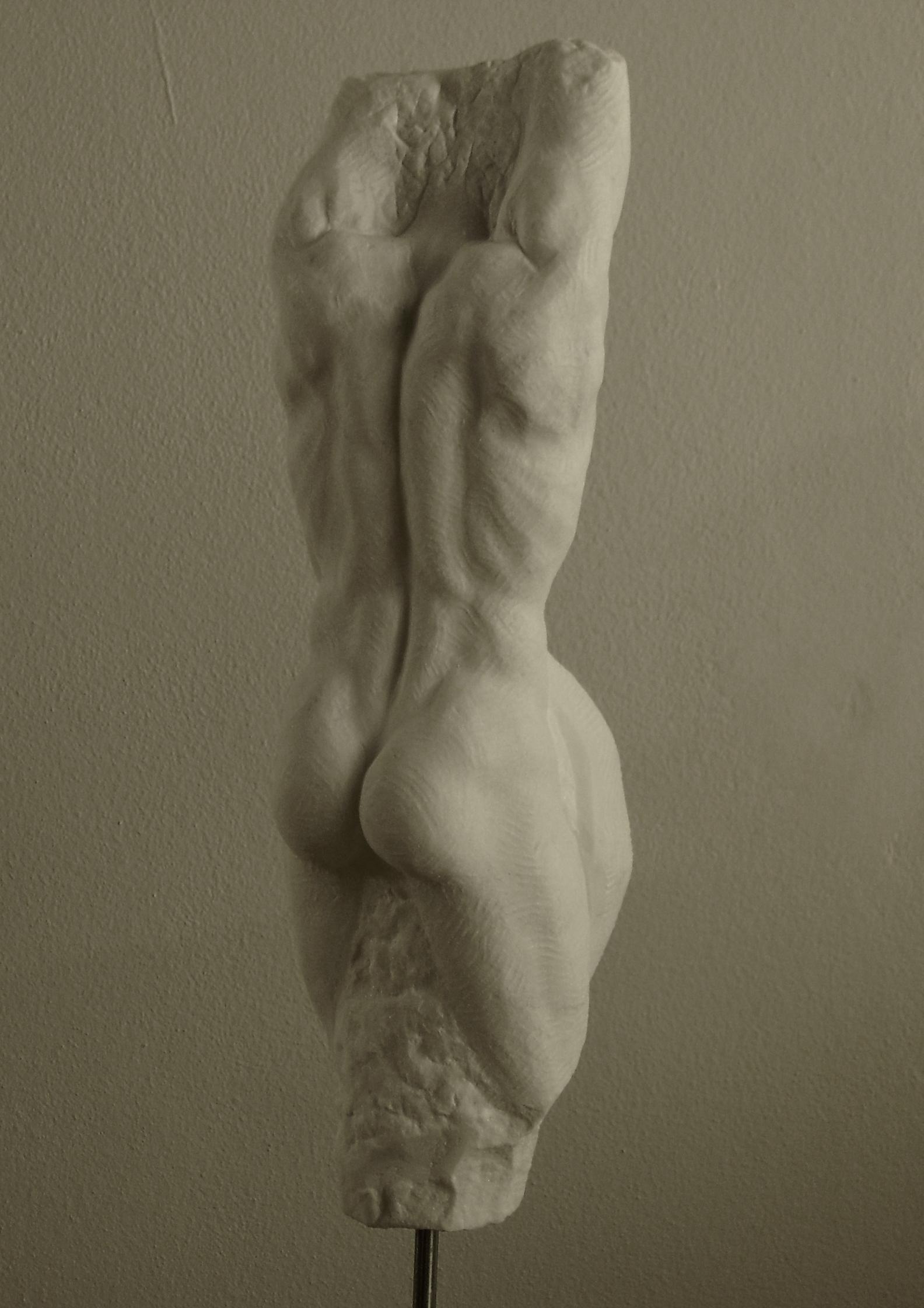 Temistocle 2006 marmo statuario 63x15
