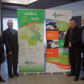 Nouveautés pour le transport collectif dans la MRC de Matawinie - Taxibus et bonification du circuit