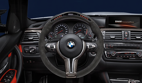 M Performance steering wheel with Race-display