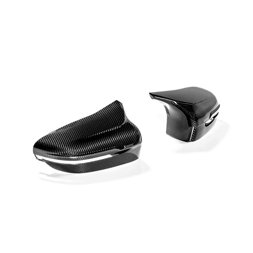 Akrapovic Carbon Fiber Mirror Cap Set - BMW F91/92 M8/M8 Competition