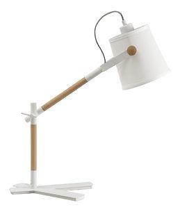 Luminárade mesa branca