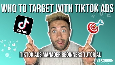 Who you can target with Tik Tok Ads! 🎯Live TikTok Ads Manager Tutorial