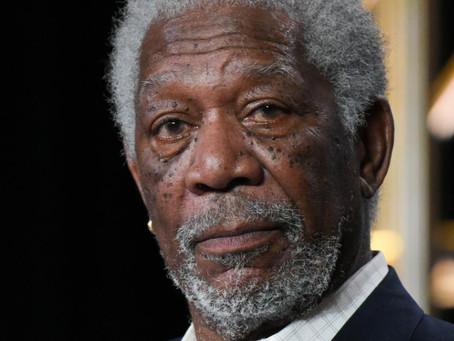 Morgan Freeman and 'Ya buy 1 ya get 1 free'!