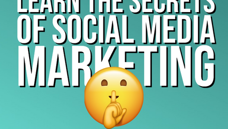 Want to learn the secrets to social media marketing?