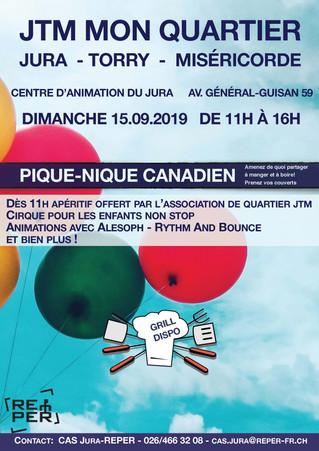 PIQUE-NIQUE CANADIEN - 15.09.2019