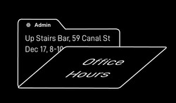 Admin Office Hours