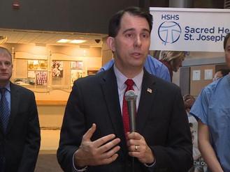 Governor Walker Visits HSHS Sacred Heart