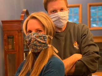 Dr. Peter Hanson and Natalie Hanson Are Stitching The Community Together During This Pandemic.