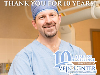We're Celebrating Ten Years of Service in the Chippewa Valley!