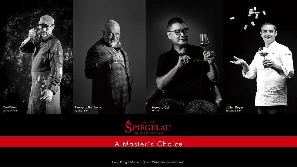 Paul Pairet, Umberto Bombana, Howard Cai, Julien Royer