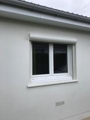 Fenêtre PVC blanc, profil DECEUNINCK, posée à Déville-Lès-Rouen, de chez Cap isoplas