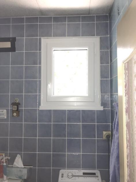 Fenêtre PVC blanc, profil DECEUNINCK, posée à Rouen, de chez Cap Isoplas