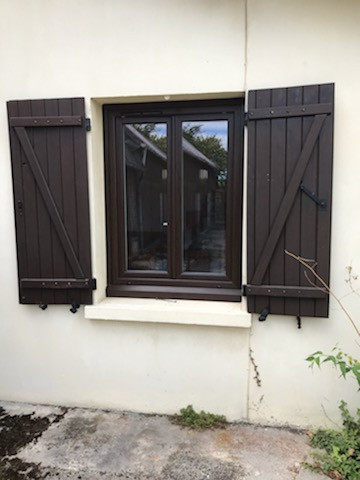 Fenêtre posée à Bihorel