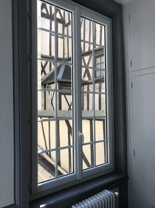 Fenêtre posée à Rouen