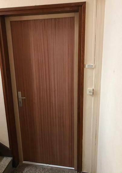 Porte posée à Petit-Quevilly