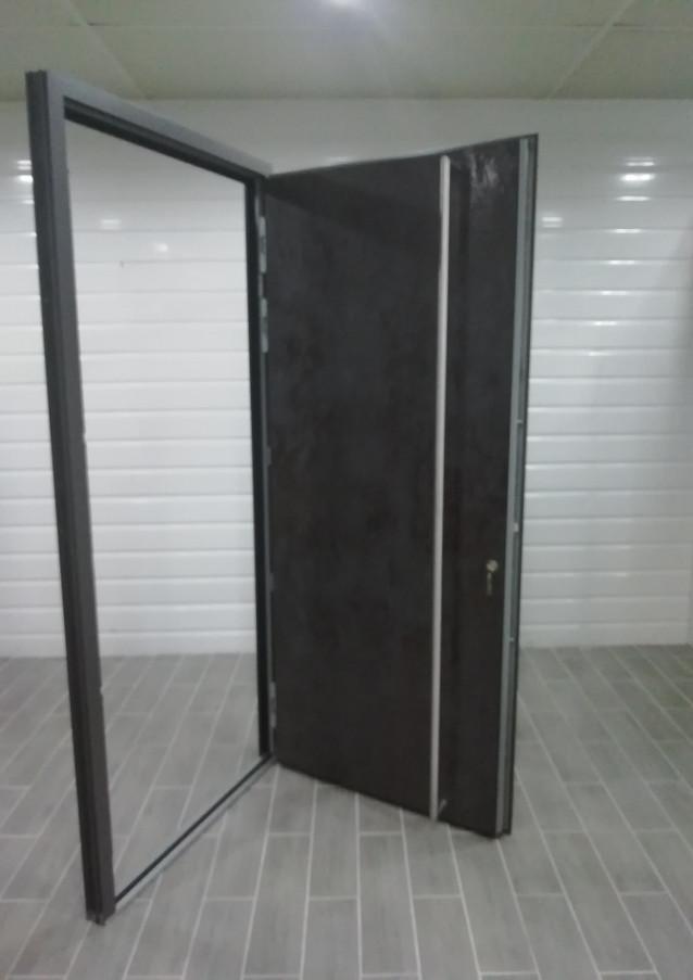 Porte d'entrée fin-door céramaique - modèle d'exposition