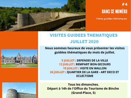VISITES GUIDEES THEMATIQUES