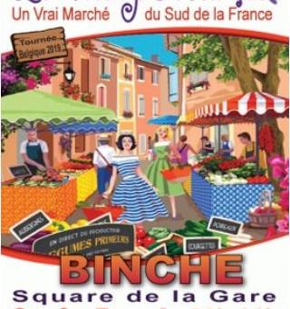 Village provençal à Binche