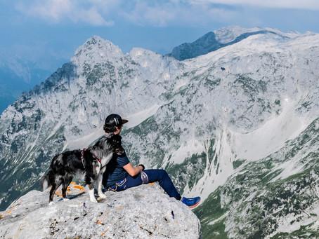 Eiskogel - Blick ins Tennengebirge
