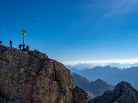 Höchster Gipfel Deutschlands - Zugspitze