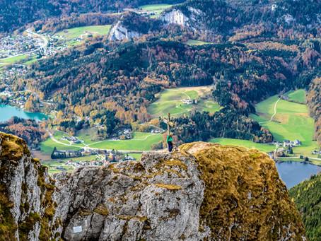 Goldener Herbst am Schafberg
