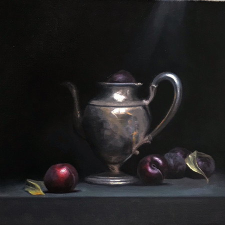 """""""Still Life with Plumbs"""" sold"""