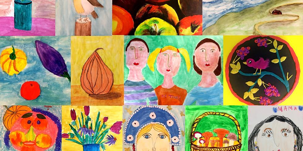 Уроки изобразительного искусства с Вероникой Вандерс