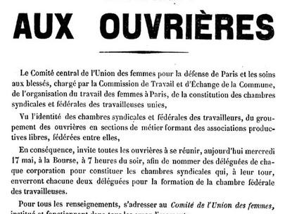 La Commune de Paris. Mercoledì 17 maggio 1871